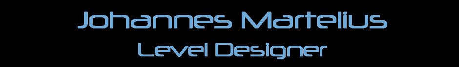 Johannes Martelius | Level Designer